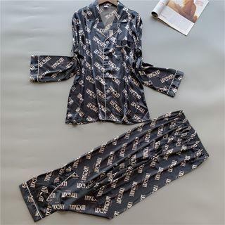 Pajama | Shirt | Silk | Faux | Pant