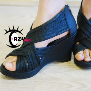 Buy CRZyeye Wedge Sandals 1022943624