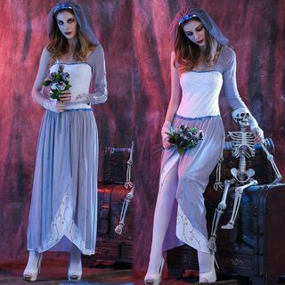 Corpse Bride Party Costume 1054000350