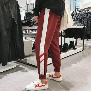 Striped Trim Sweatpants