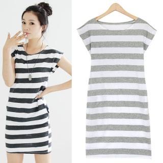 Buy HUE IT GIRL Short-Sleeve Stripe T-Shirt Dress 1022991946