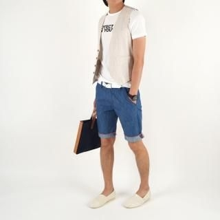 Buy IRONB Denim Shorts 1022942170