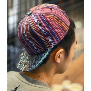 Patterned Baseball Cap 1049176309