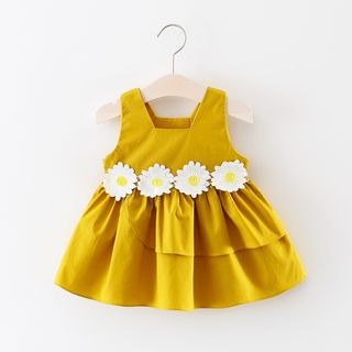 Image of Kids Daisy Sleeveless A-line Dress