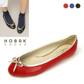 Picture of HOBAK girls Beribboned Flats 1022078747 (Flat Shoes, HOBAK girls Shoes, Korea Shoes, Womens Shoes, Womens Flat Shoes)