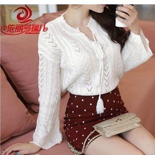 V-Neck Knit Pullover 1057018281