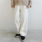 Wide-Leg Cotton Pants 1596