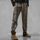Check Straight-Leg Pants 1596