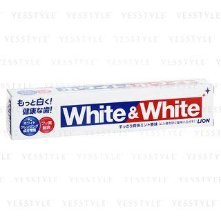 LION - White & White Toothpaste 150g 1045616803