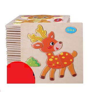 Kids Toy Animal Puzzle 1061785346