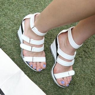 Buy Drama Velcro Wedge Sandals 1022840658