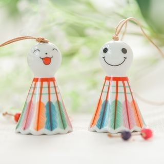 Doll Wind Chime / Set of 2: