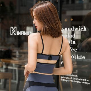 Image of Contrast Trim Sports Camisole