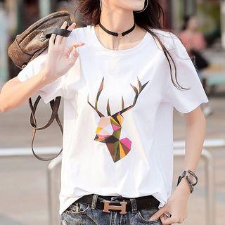 Image of Deer Short-Sleeve T-Shirt