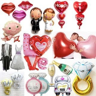 Microfoil Balloon Party Decoration 1055033394