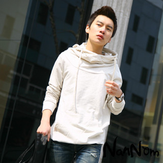 Picture of NanNom Funnel-Neck Hoodie 1022480653 (NanNom, Mens Tees, Korea)
