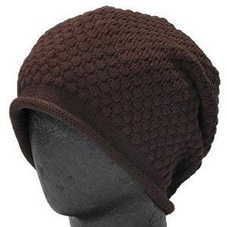 Buy GRACE Knit Watch Cap Dark Brown – One Size 1014544848