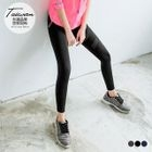 Paneled Mesh Active Leggings 1596