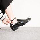 Ankle-Strap Patent Loafers от YesStyle.com INT