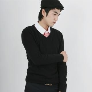 Picture of BoynMen V-Neck Knit Top 1022590973 (BoynMen, Mens Knits, Korea)