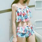 Set: Floral Swim Top + Swim Bottom 1596