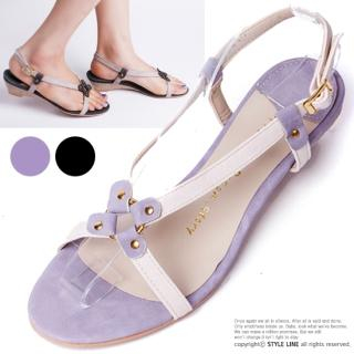 Buy STYLE LINE Strap Wedge Sandals 1022974697
