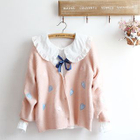 Heart Applique Cardigan 1596