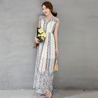 Patterned Maxi Dress 1596