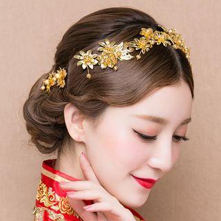 Image of Bridal Flower Headband