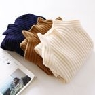Ribbed Mock Neck Sweater 1596
