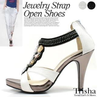 Buy Trisha Rhinestone Platform Sandals 1022976514