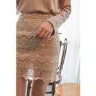 Lace Mini Pencil Skirt 1596