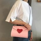 Heart Applique Crossbody Bag 1596