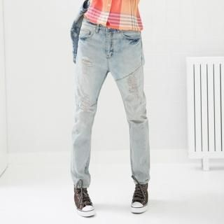 Buy Jean Stone Distressed Jeans 1022573535