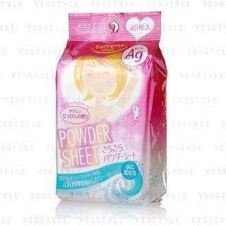 Kose - Softymo Powder Sheet (Soap) 40 pcs