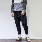 Fleece-Lined Cropped Sweatpants 1596