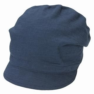 Picture of GRACE Gathered Casquette Blue - One Size 1022099499 (GRACE, Mens Hats & Scarves, Japan)