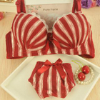 Set: Striped Bra + Panties 1596