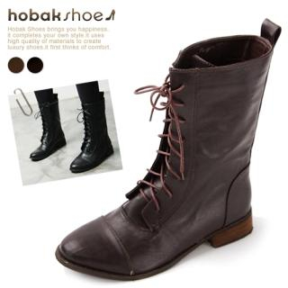Buy HOBAK girls Lace-Up Boots 1023059687