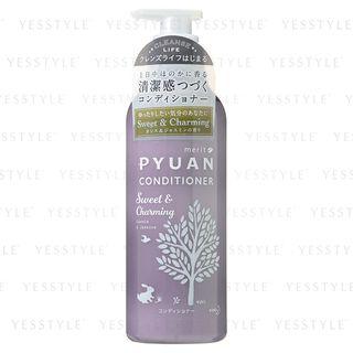 Kao - Merit Pyuan Sweet & Charming Conditioner (Cassis & Jasmine) 425ml 1060718693