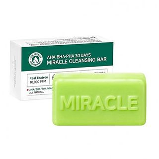 AHA, BHA, PHA 30 Days Miracle Cleansing Bar 1pc