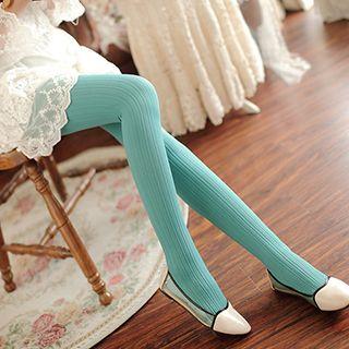 Plain Ribbed Leggings 1048069948