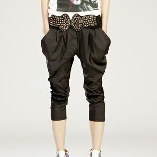Buy tictak Cropped Panel Harem Pants 1023065718