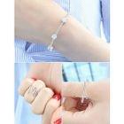 Set of 3: Layered Ring + Rhinestone Bracelet от YesStyle.com INT