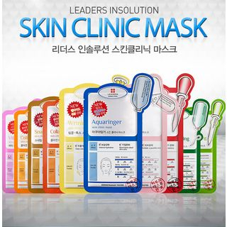 LEADERS - Insolution Skin Clinic Mask 1pc Collagen Therapy Skin Clinic Mask 25ml 1050884274