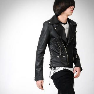 Buy deepstyle Faux Leather Jacket 1022113313