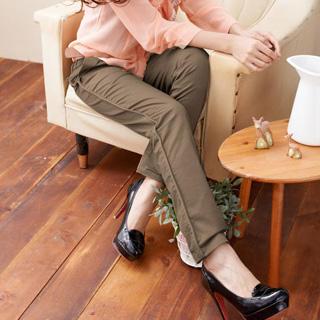 Slim-Cut Pants With Belt 1032518234