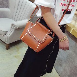 Stitch Detail Crossbody Bag