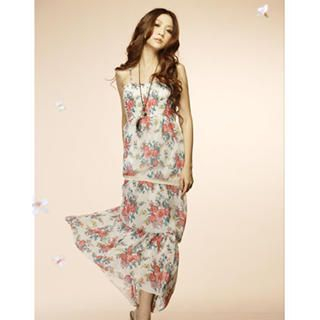 Buy Tokyo Fashion Lace-Trim Floral Maxi Dress 1022779847