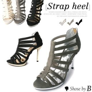 Buy Shoes by B Strappy Platform Sandals 1022770474